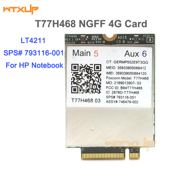 4G module LT4211 T77H468 GOBI5000 LTE/EV-DO/HSPA+WWAN Card SPS:793116-001 for HP LT4211 Elitebook 740 750 820 840 850 G2/810 G3