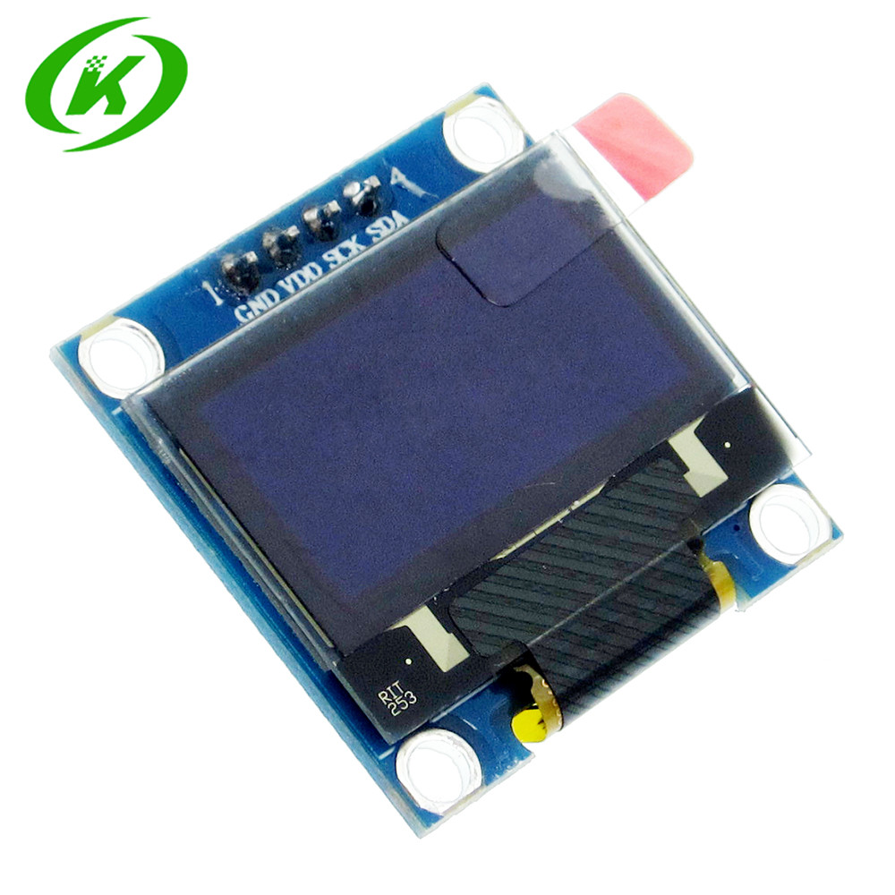 1pcs 128X64 Blue/white OLED LCD <font><b>LED</b></font> Display Module 0.96&#8243; <font><b>I2C</b></font> IIC SPI Serial 128*64