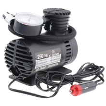 Tragbare Elektrische Mini 12V Luft Kompressor Pumpe Auto Reifen Reifen Inflator Pumpe Inflador de neumaticos bomba pneu gonfleur pompe