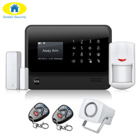 Cheapest WIFI GSM GPRS Alarm System Autodial Home Security System Android IOS Control 7 Languages Russian