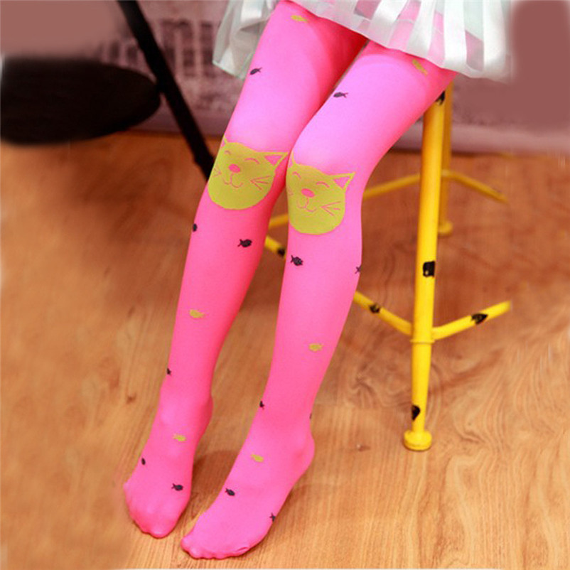 fashion good quality polyester pantyhose kids sweet cartoon lovely girls socks meia infantil dropshipping 3OT12 (10)