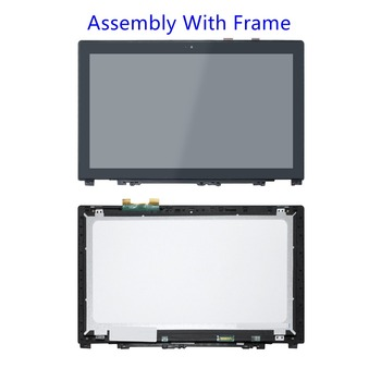 "59428053 59385621 LED LCD 15.6"" FHD Touch Screen Digitizer Assembly For Lenovo Ideapad U530"