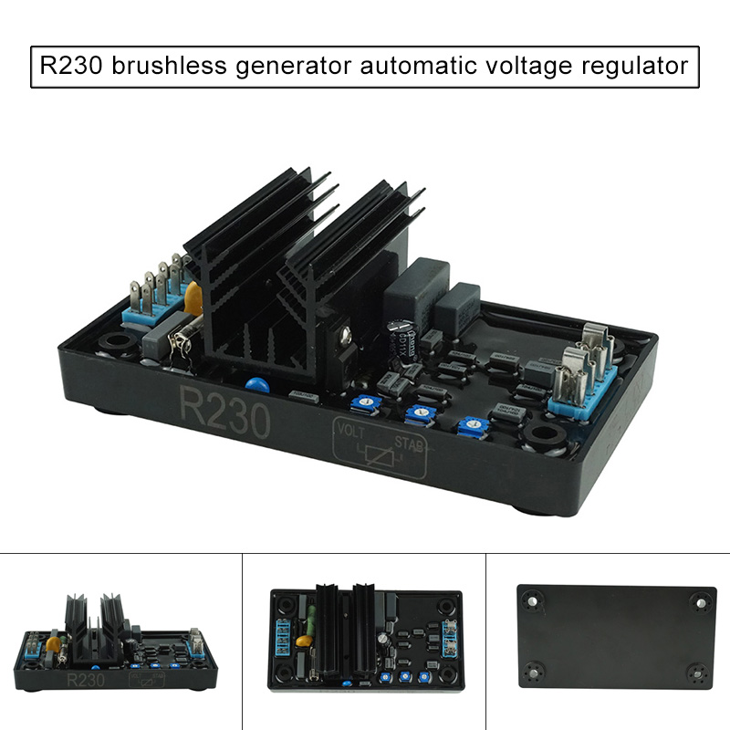 1pc Brushless Generator Voltage Controller Automatic Voltage Regulator for Diesels Generator ALI881pc Brushless Generator Voltage Controller Automatic Voltage Regulator for Diesels Generator ALI88