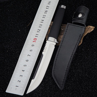 Cold fixed blade Swiss knife camping tactical hunting knife outdoor survival straight knife EDC tool car multi tool