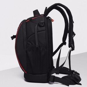 Image 3 - wholesale free shipping  NOVAGEAR 80404 big one Professional digital camera bag slr anti theft  camera backpack fashion