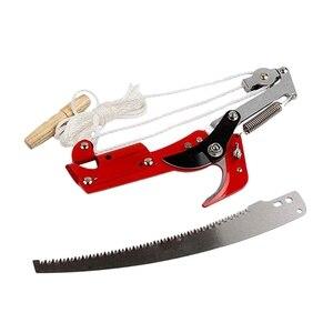 Image 1 - Wysuwane narzędzie do przycinania nożyczek wysoka gałąź drzewa Lopper nożyce na dużych wysokościach zbieranie owoców ogród trymer piła gałęzie frez