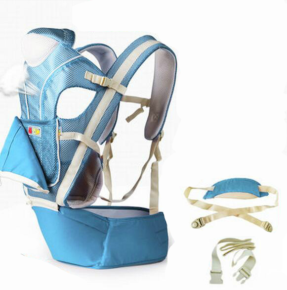 2016 Hot Sale Baby Belt Backpack Waist Stool Breathable Multifunctional Baby Sling Holding Waist Stool Hipseat Bag 4 Seasons Bag budou four seasons multifunctional baby suspenders newborn baby stool for children breathable suspenders belt