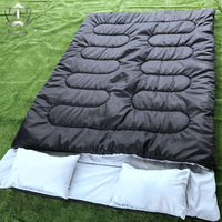 2018 Wnnideo New 2 Person Capacity Outdoor Camping Accessory Sleeping Bags Bag Picnic Large Capacity Warm Couple