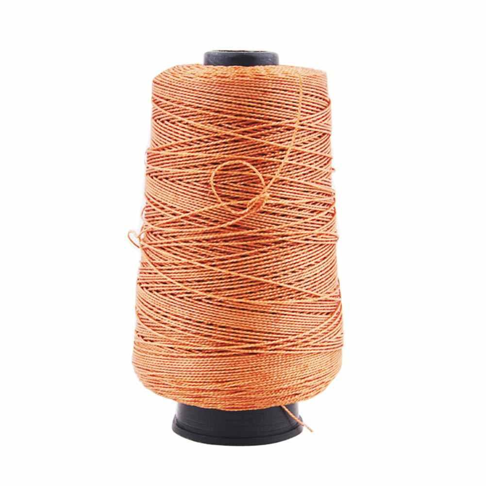 Швейные нитки 985ft 300 м прочные нейлоновые Кожаные Швейные Вощеные нитки для ремесленных ботинки черный/белый/коричневый