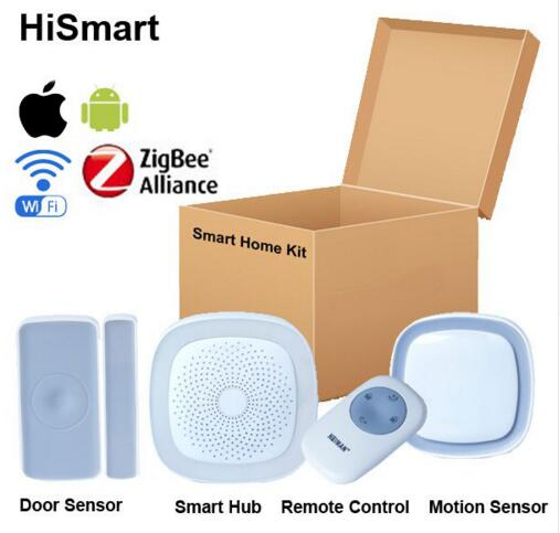 Big discount Smart home automation Zigbee HA 1.2 smart gateway hub Smart home kit 80% discount