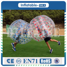 Free Shipping Door To Door 0 8mm PVC 1 5m Inflatable Bubble Soccer Ball Bumper Ball