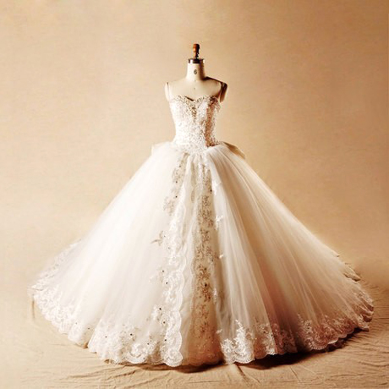 Popular Crystal Wedding Dresses-Buy Cheap Crystal Wedding Dresses ...
