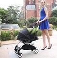 YUYU leisurely pram cart sleeping basket stroller car light folding umbrella can lay special sleeping bag