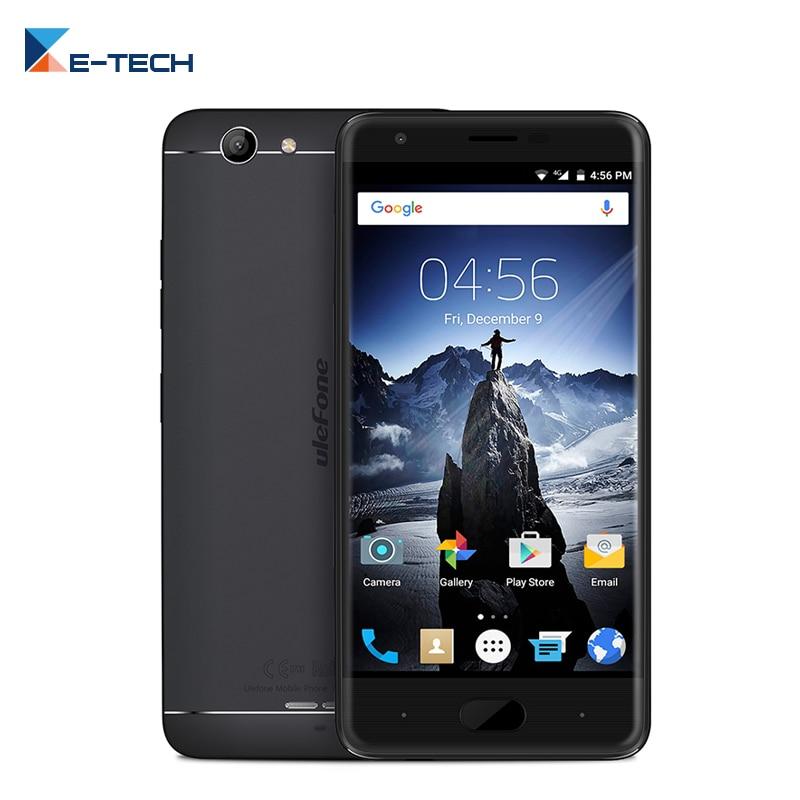 bilder für Ulefone U008 PRO MT6737 Quad core Smartphone 5,0 zoll Handy 2 GB RAM 16 GB ROM Android 6.0 4G LTE FDD 3500 mAh Mobile telefon