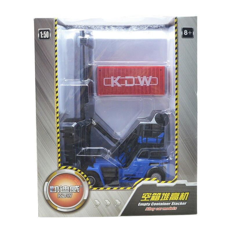 De aleación de vehículo de ingeniería contenedor de machinesimulation juguete de los niños modelo 1:50 Navidad Año nuevo chico regalo - 5
