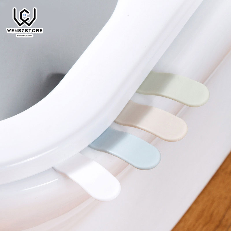 1PC Portable Small Toilet Seat Cover Lifter Sanitary Closestool Seat Cover Lift Handle For Travel Home Bathroom Xfx25