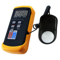Portable Digital Light Level Meter Tester 200k Lux Foot Candle FC LCD Photo Use for Industrial Inspection