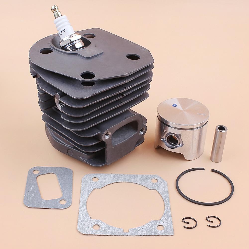 Tools : 44mm Cylinder Head Piston Gasket Kit For HUSQVARNA 350 351 353 345 340 346XP Chainsaw Engine Motor Rebuild Kit OEM 537253002