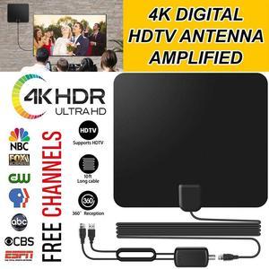 Image 1 - Vmade HD הדיגיטלי Amplified טלוויזיה אנטנה 120 קילומטרים טווח טלוויזיה ISDB ATSC DVB T DVB T2 טלוויזיה מקורה אנטנה עבור DVB T2 לווין מקלט