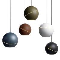 Современный простой светодиодный подвесные светильники для Спальня Кухня подвесной светильник украшения дома лампы освещения повесить св