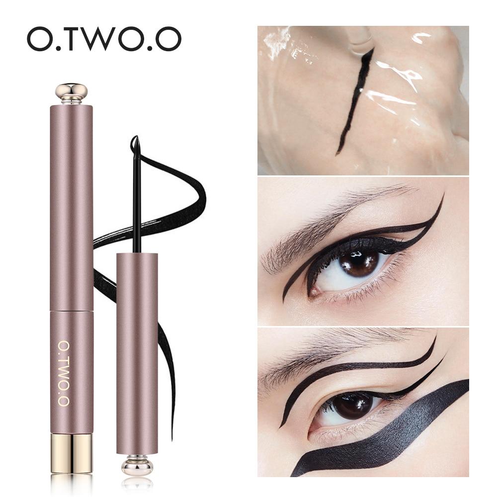 O.TWO.O Professional Liquid Eyeliner Pen Black Beauty Cat Style 24 Hours Long-lasting Waterproof Makeup Cosmetic Tool