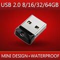 NEW Brand Mini Small Usb Flash Drive 512GB 32GB 64GB Memory Stick Pendrive Pen Drive 128GB Waterproof Usb Disk On Key Gift 2.0