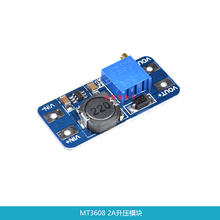 MT3608 DC-DC Adjustable Boost Module 2A Boost Plate 2A Step Up Module with  USB 2V - 24V to 5V 9V 12V 28V LM2577 In Stock цена 2017