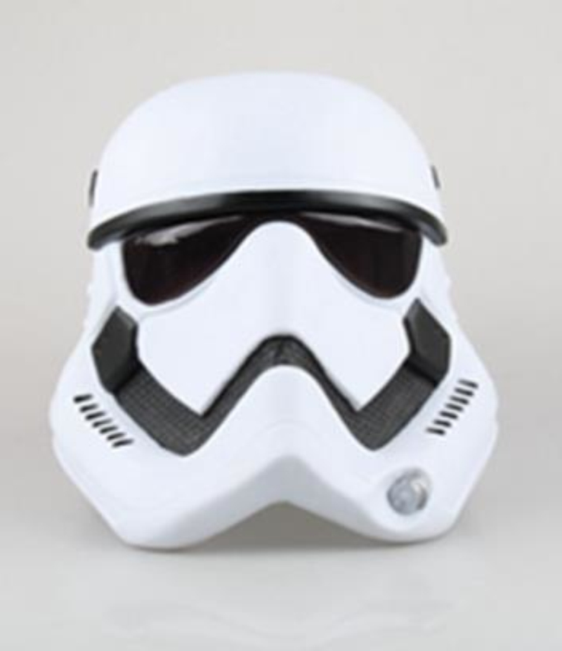 Star Wars White Soldier Cosplay Mask The Force Awakens Helmet Superhero Stormtrooper PVC Mask Halloween Accessories Props Adult