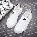 Горячая Бесплатная доставка 2016 осень новые моды для женщин обувь классические случайные сплошной цвет холст мокасины женщины повседневная обувь