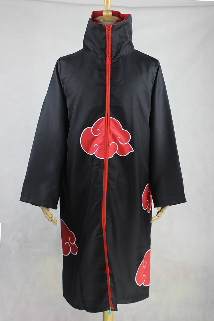 Image 2 - KIGUCOS Large Size Anime Naruto Cosplay Costumes for Men Women Uniform Uchiha Itachi Cloak Akatsuki Cosplay Halloween Outfit-in Anime Costumes from Novelty & Special Use