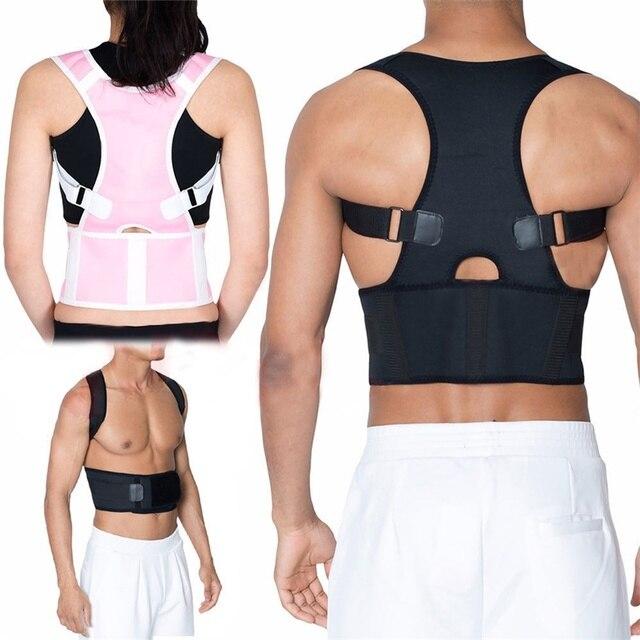 2019 Posture Brace Shoulder Back Support Men Shoulder Posture Hot Sale Belly Sweat Belt Back Posture Corrector Free Shipping 5