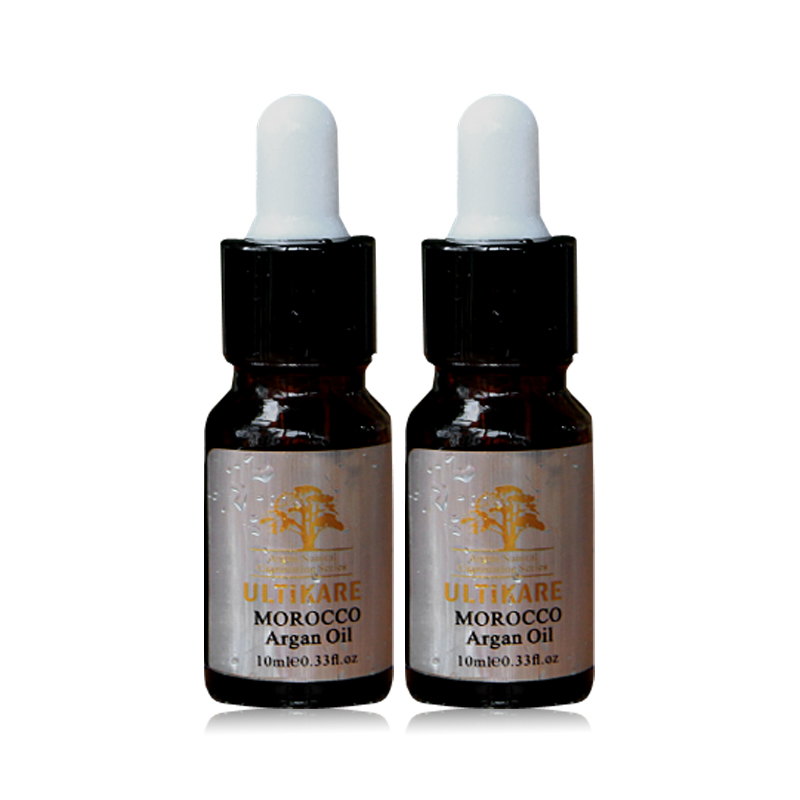 Smallest 2*pcs 10ml Moroccan Argan Oil Hair Treatment Deep Care And Nourish Smooth For Hair With Rich Nutrition Free Shipping