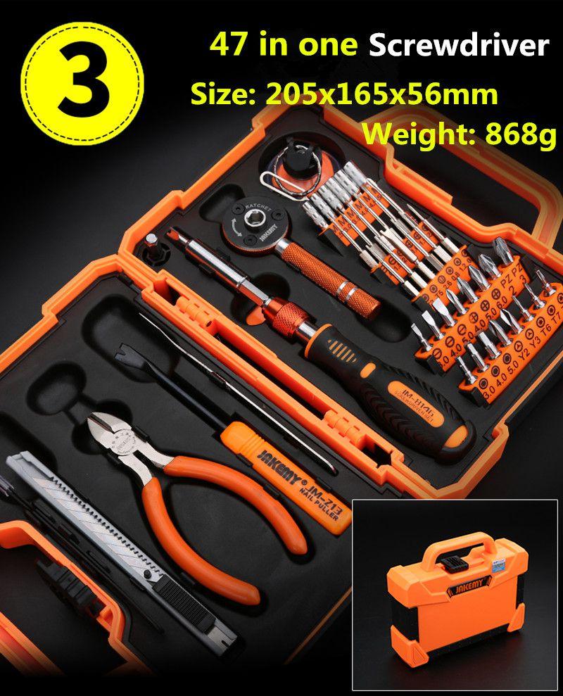 47 Pieces  Screwdriver Set Precision Repair Tools Kit,screwdriver for phones. free shipping brand proskit sd 9805 6pcs insulated precision screwdriver set driver kit screwdriver set