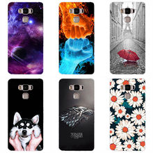 "Hard plastic Case For ASUS Zenfone 3 Max ZC553KL 5.5"" Colored Paiting Back Cover Shell Hard plastic Patterned fitted Phone Case(China)"