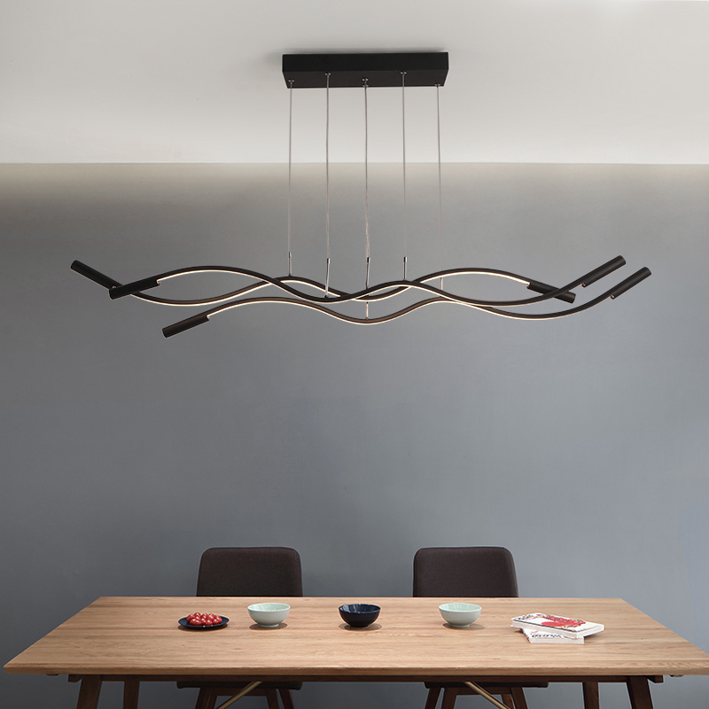 Wavy Pendant Lights For living Room Dining Room Meeting Room Bar Coffee house home Decoration Modern LED Pendant Lamp lighting Wavy Pendant Lights For living Room Dining Room Meeting Room Bar Coffee house home Decoration Modern LED Pendant Lamp lighting
