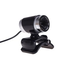 PROMOTION! USB 2.0 12 Megapixel HD Camera Web Cam with MIC Clip on 360 Degree for Desktop Skype Computer PC Laptop Black(China)