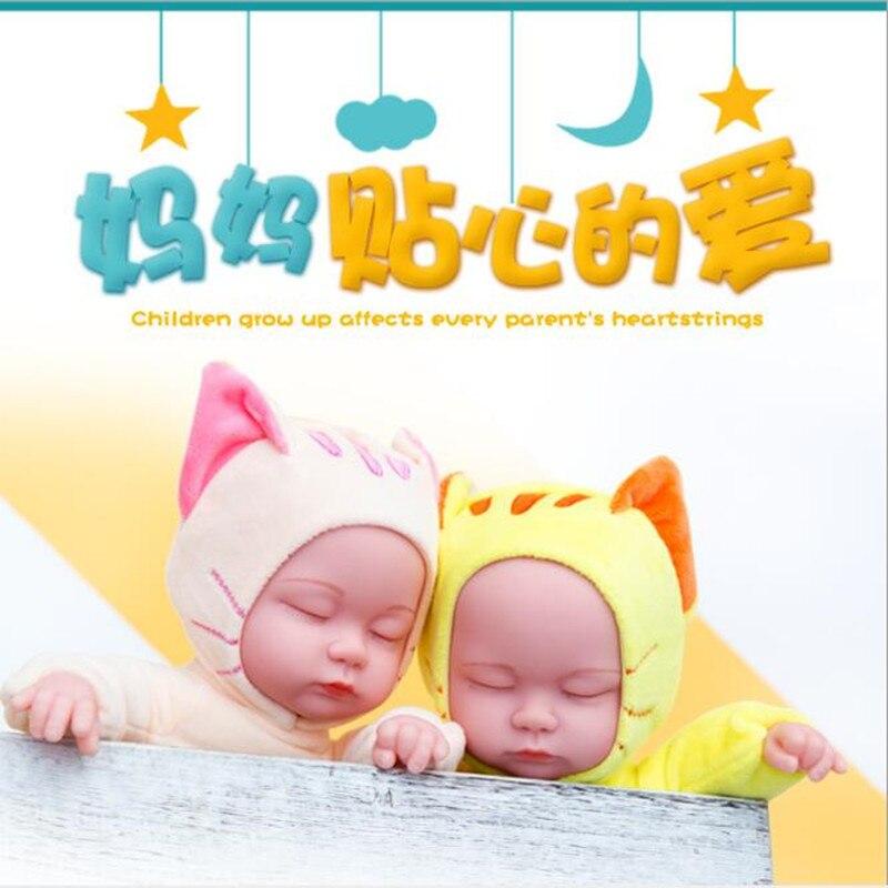 Купить лидер продаж; новинка 25 см плюшевые игрушки детские куклы реборн