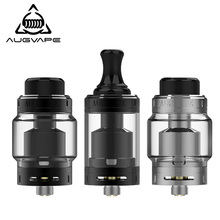 Augvape Merlin MTL RTA Atomizer 5ML 22MM Top Filling Purest Flavor 3ml Spare Glass Tube MTL Drip Tip Vape Tank RTA стоимость