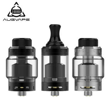 Augvape Merlin MTL RTA Atomizer 5ML 22MM Top Filling Purest Flavor 3ml Spare Glass Tube MTL Drip Tip Vape Tank RTA - DISCOUNT ITEM  72% OFF All Category