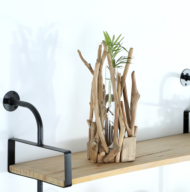 Home Decor Gift Ideas Part - 33: Home Decor Modern Style Wood Artworks Planters With A Glass Tube Unique Gift  Ideas 100%