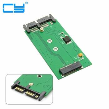 "10pcs/2Mini PCIE pci-e pci express2 LanessdM.2 NGFF SSD to1.8"" MicroSATA 7+9 16pin Adapter Cards PCBA for E531 X240S Y410P Y510P"