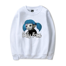 2019 New Sally face Capless Hoodie Men/Women Fashion printing Hip Hop Sweatshirt  Long sleeve Tops XXS-4XL