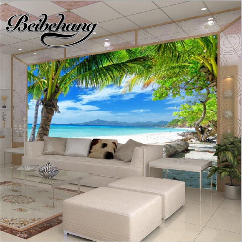 Beibehang Modern House Custom Wallpapers 3D Walls