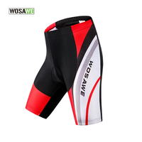 WOSAWE Cycling Shorts Coolmax 4D Padded Breathable MTB Shorts Polyester Quick Dry Mountain Road Shockproof Bike Shorts Men/Women