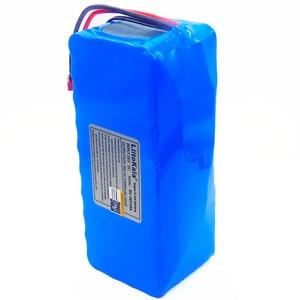 Image 4 - LiitoKala 36v 42V lithium battery 10ah lithium ion battery 18650V 10000 mAh 10s4p bms large capacity electric bicycle charger