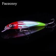 Facecozy 1 piece 11cm 13.5g Luminous Fishing Lure Floating Wobbler Professional Hard 3D Eyes Artificial Bait