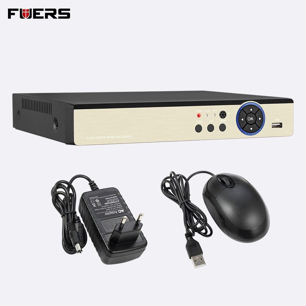 FUERS AHD 8CH 4CH WiFi 3G DVR 5MP 960 P 1080 P HD système de caméra de Surveillance à domicile Kit de vidéosurveillance vidéo Surveillance VGA HDMI H.264 ensemble