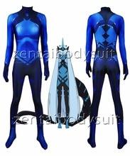 Klaxosaur Princess Darling in the Franxx 001 Cosplay Bodysuit 3D Imprimer  Lycra Spandex Zentai costume Halloween Party suit