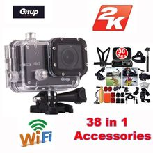 Gitup Git2 Novatek 96660 1080P Full HD 2K 30fps WiFi Sports activities Digicam 1.5 inch LCD Display screen Motion Cam +38Pcs Equipment Equipment