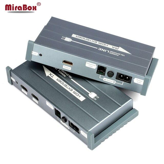 HSV900 300 м HDMI Удлинитель По Линии Электропередачи Кабель Поддержка 1080 P HDMI По Телефонной Линии Extender 200 м Для домашний Кинотеатр